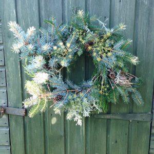christmas wreath workshops chesterfield