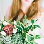 organic foraged wedding flowers