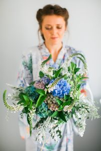 all-natural wedding floristry