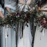 december wedding flowers British grown bouquets