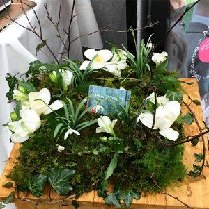 Lake District Wedding Fair Pollendine's Cumbrian florist